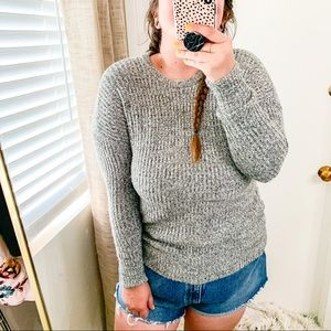 Abercrombie & Fitch Wool Blend Knit Sweater